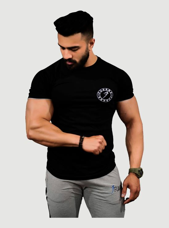 Picture of Fuaark Basic Tshirt - Black Large