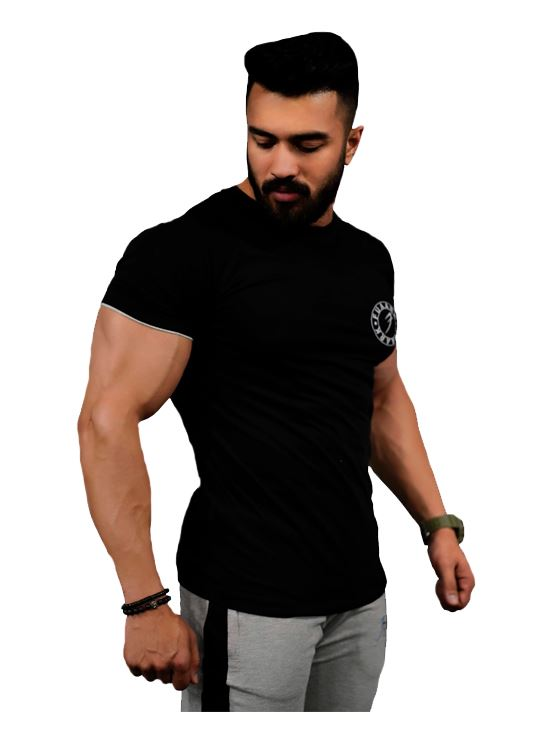 Picture of Fuaark Basic Tshirt - Black X-Large