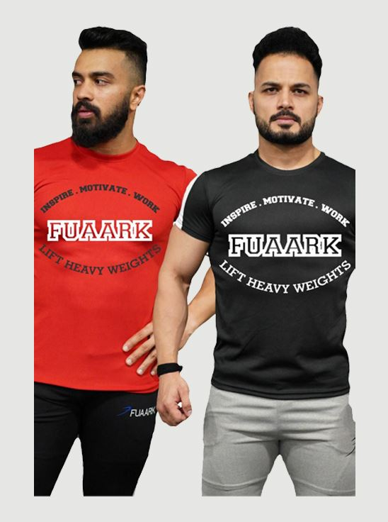 Picture of Fuaark Classic Tshirt Nirma - ComboRed&Black X-Large