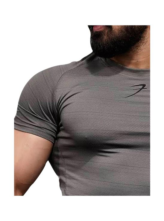 Picture of  Fuaark Edge T - ShirtCharcoal Grey Medium