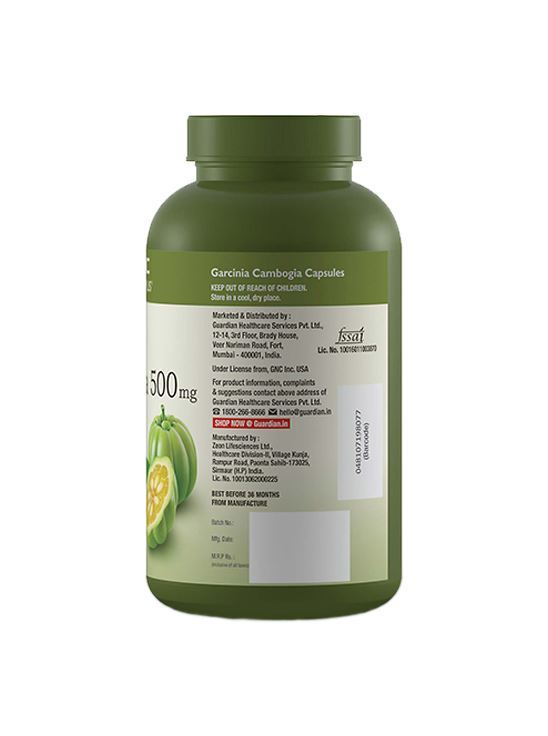 Picture of GNC Garcinia Cambogia Helps Weight Loss - 90 capsules