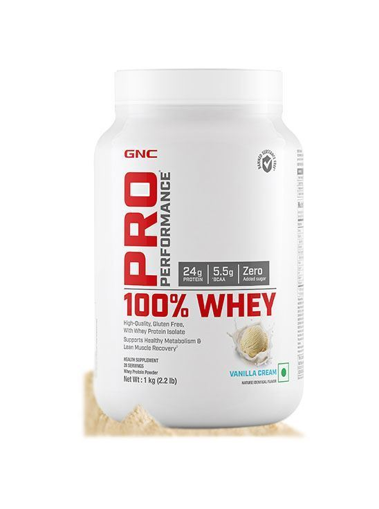 Picture of GNC Pro Performance® 100% Whey Protein - 2.2 lbs, 1 kg (Vanilla Cream)