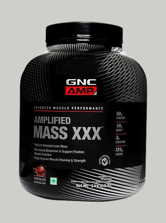 Picture of GNC Mass XXX Powder Chocolate 3kg