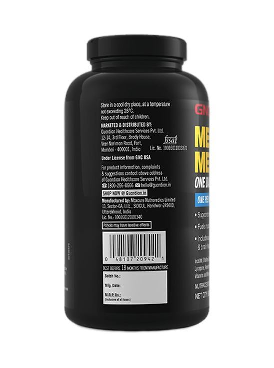 Picture of GNC Mega Men One Daily Multivitamin -60 Caplets