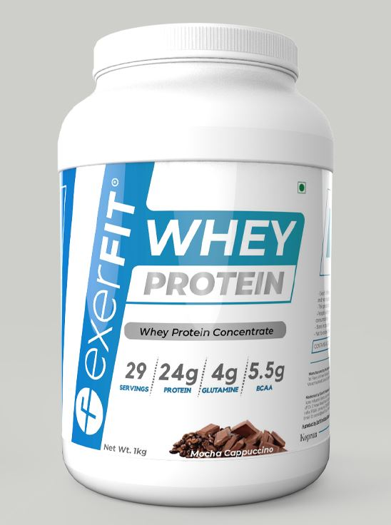Picture of ExerFIT Whey Protein Concentrate Mocha Cappuccino- 1Kg