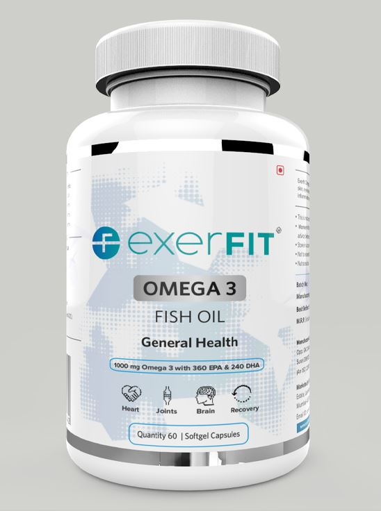 Picture of ExerFIT Omega 3 Fish Oil