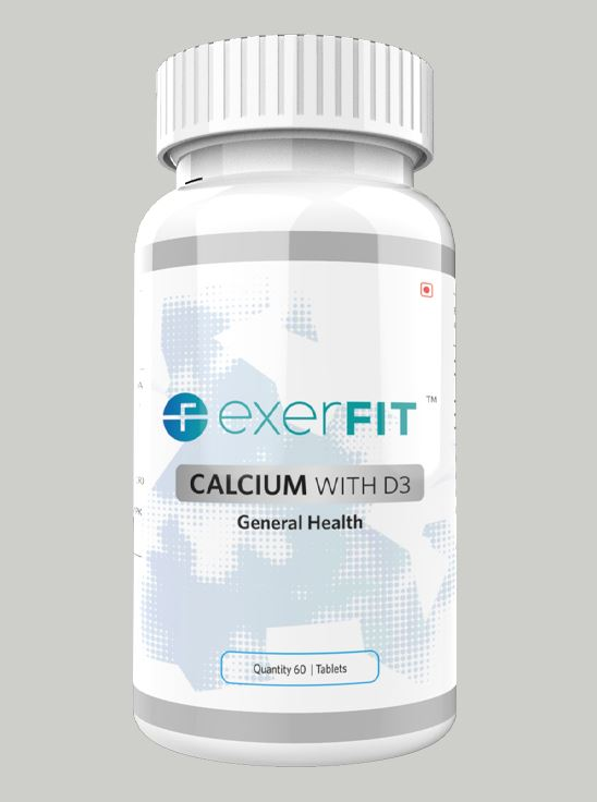 Picture of ExerFIT Calcium with D3