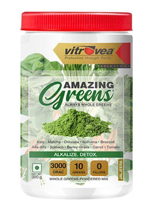 Picture of Immunity Stack - Pack of 3 (Antox Q10, Amazing Greens (Jaljeera), MEGACURC®)