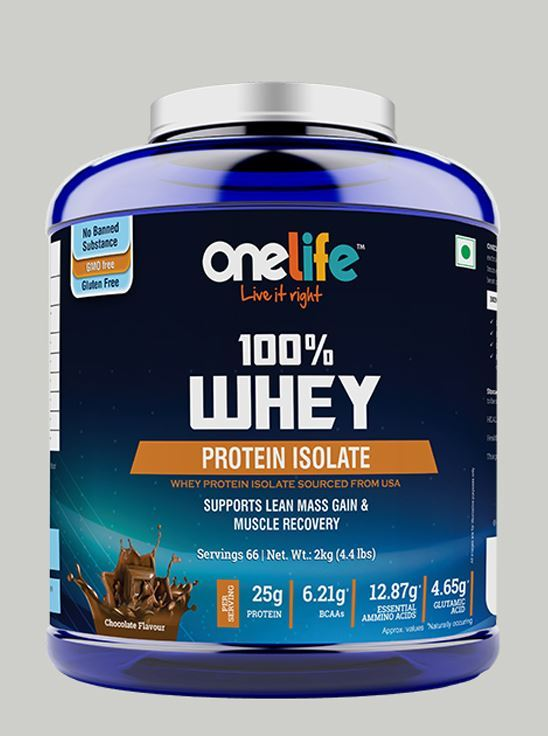 Picture of Onelife 100% Whey Protein Isolate Chocolate 2kg
