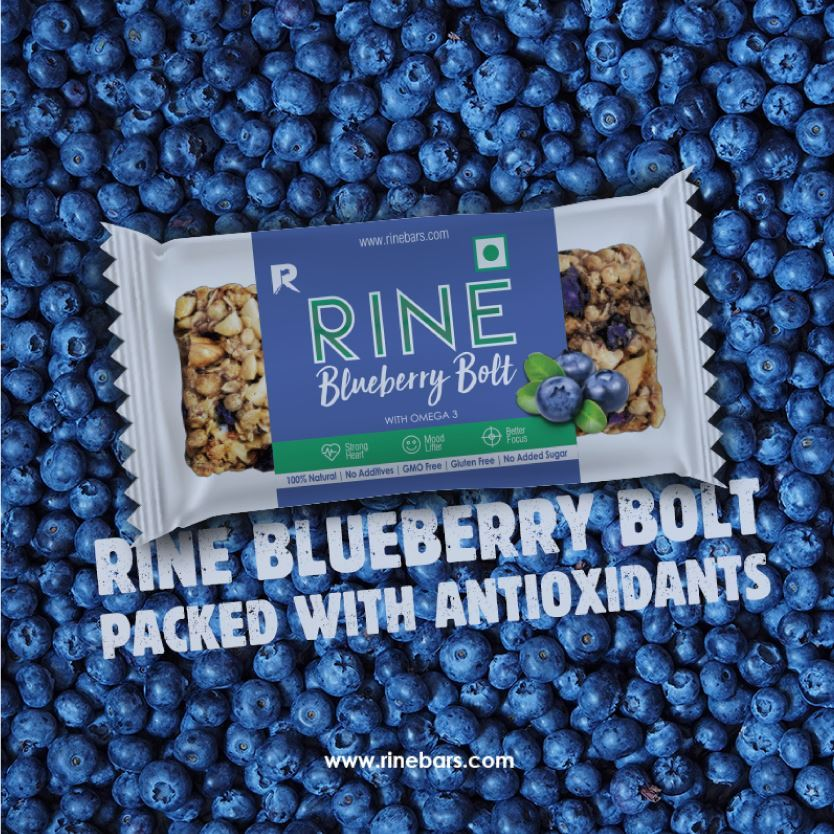 Picture of Rine Blueberry Bolt Bar Pack of 6