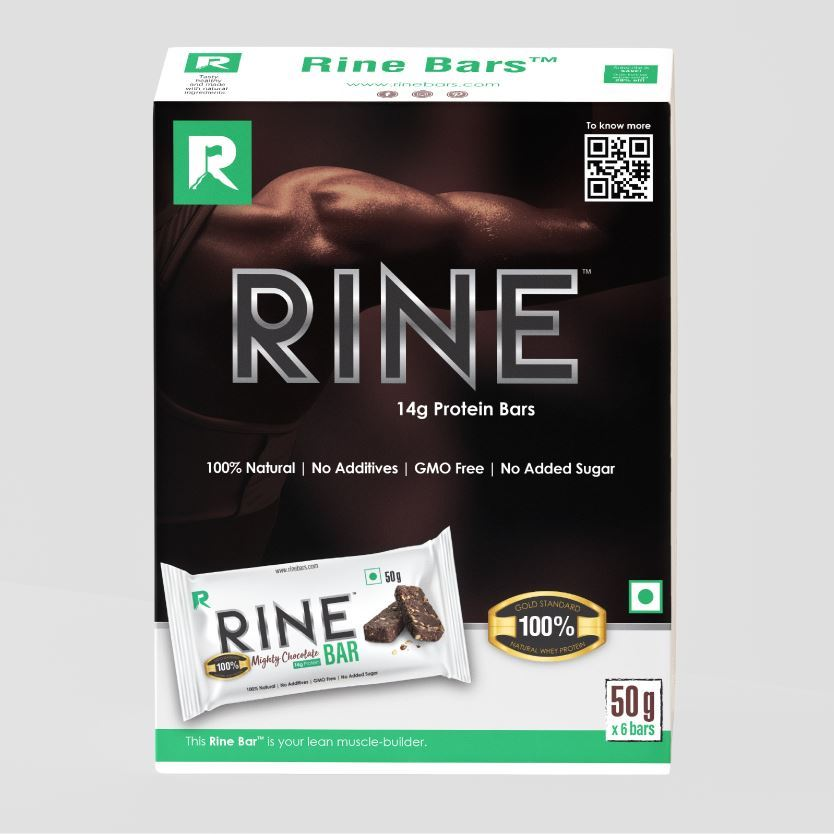 Picture of Rine Mighty Chocolate Bar Pack of 6