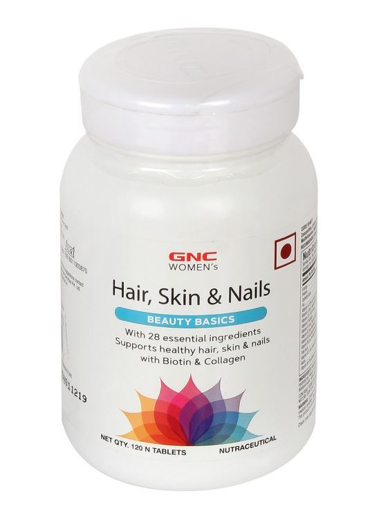 Picture of GNC Women's Hair, Skin and Nails - 120 Tablets