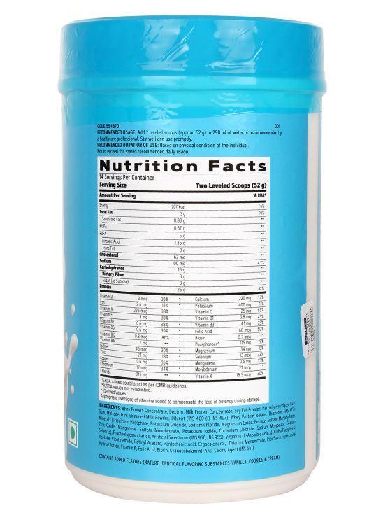 Picture of GNC Total Lean® Lean Shake™ 25 - 207 Calories, 25g Protein, 8g Fiber - 1.6 lbs, 750 g Vanilla