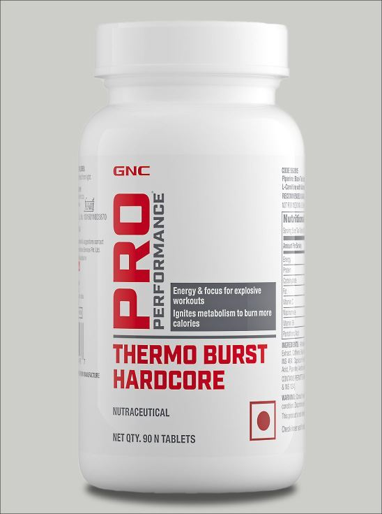 Picture of GNC Pro Performance Thermoburst Hardcore Pre Workout Booster -  90 Tablets