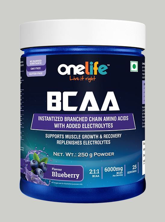 Picture of Onelife BCAA  Blueberry 250g