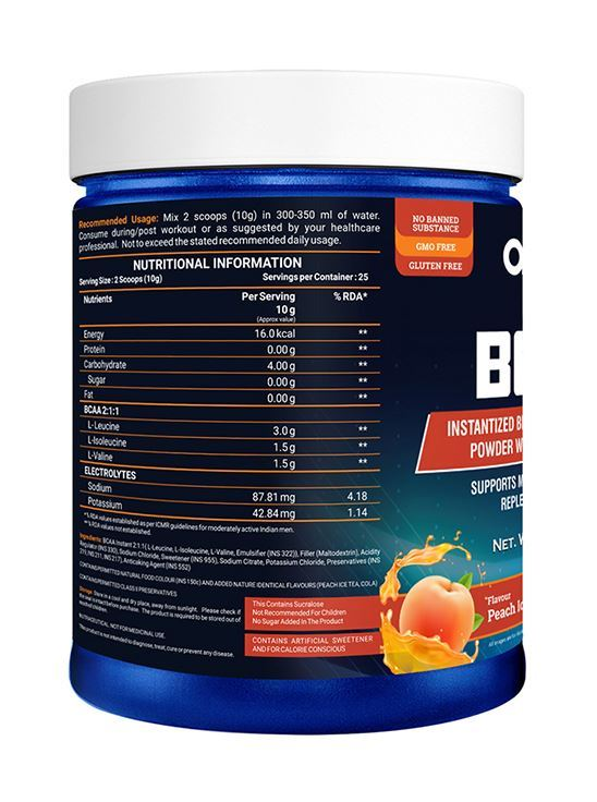 Picture of Onelife BCAA Peach Ice 250g
