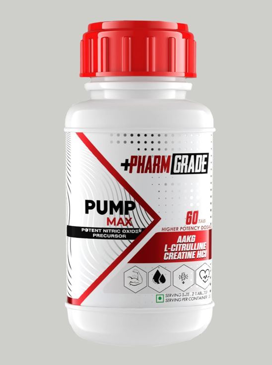 Picture of PharmGrade Arginine Pump Max (60 Tablets)