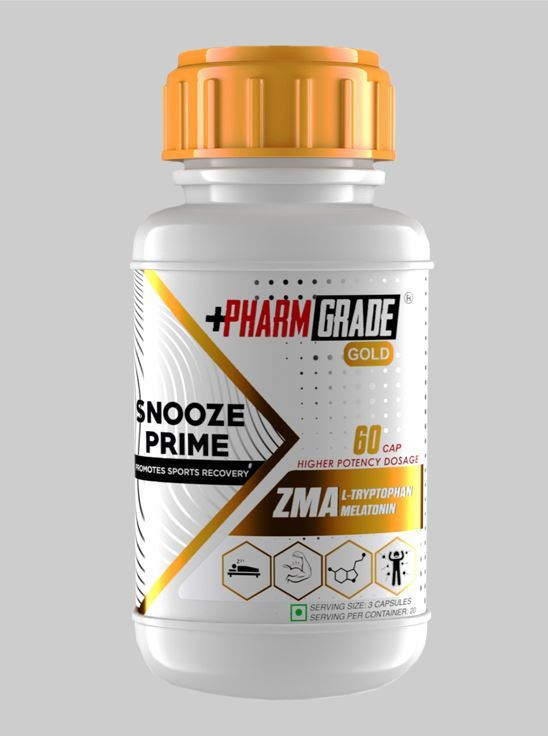 Picture of PharmGrade ZMA PLUS With Melatonin (60 Tablets)
