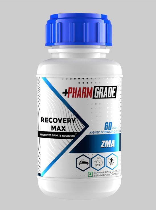 Picture of Pharm Grade ZMA Recovery Max (60 Tablets)