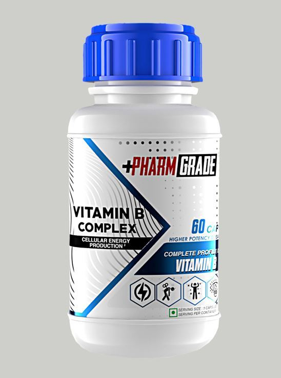 Picture of Pharmgrade Viatmin B Complex (60 Tablets)