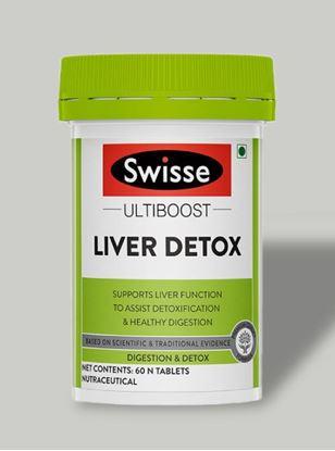 Picture of Swisse Ultiboost Liver Detox Supplement for Complete Liver Support-60 Tablets