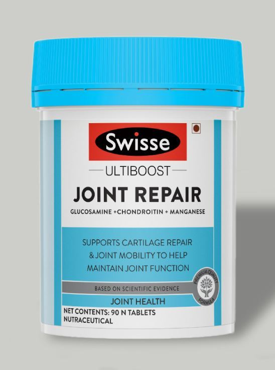 Picture of Swisse Ultiboost Joint Repair Supplement with Glucosamine, Chondroitin & Manganese – 90 Tablets