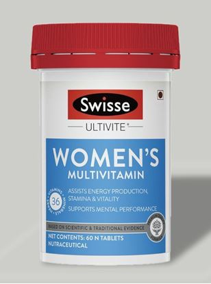 Picture of Swisse Ultivite Women's Multivitamin (36 Herbs, Vitamins & Minerals) 60 Tablets