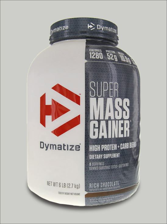 Picture of Dymatize Super Mass Gainer Rich Chocolate-6 Lbs