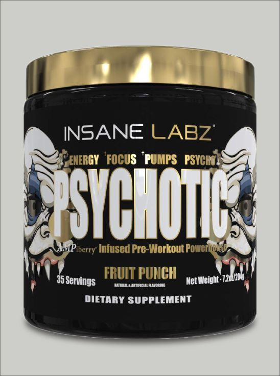 Picture of Psychotic Gold Fruit Punch 35 Servings (Short Shelf Life)