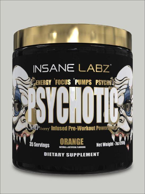 Picture of Psychotic Gold Orange 35 Servings (Short Shelf Life)