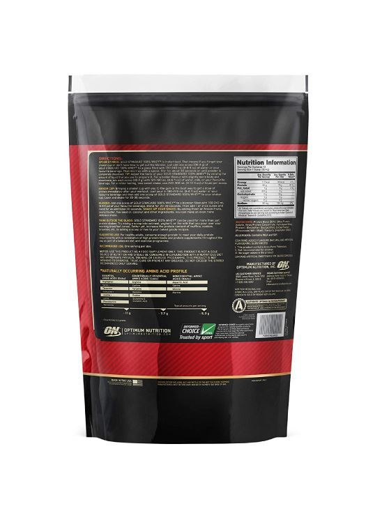 Picture of ON 100% Gold Standard Whey Chocolate 1 lbs