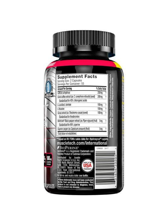 Picture of Muscletech Performance Series Hydroxycut-110 Cap