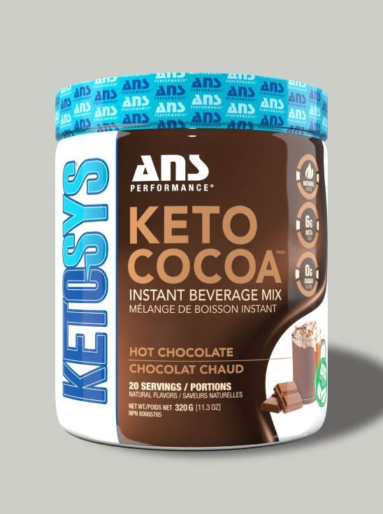 Picture of ANS Performance KETO COCOA - Instant Hot Choc Hot Chocolate  20 serving