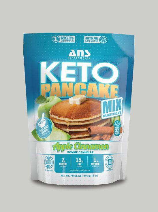Picture of ANS Performance KETO PANCAKE Mix Apple Cinnamon 1lb