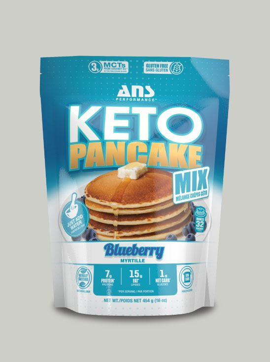 Picture of ANS Performance KETO PANCAKE Mix Blueberry 1lb