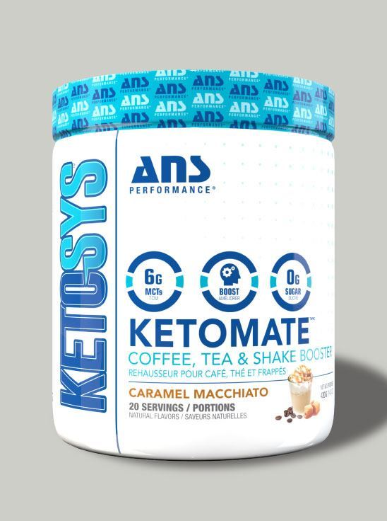 Picture of ANS Performance KETOMATE - Coffee Booster Caramel Macchiato