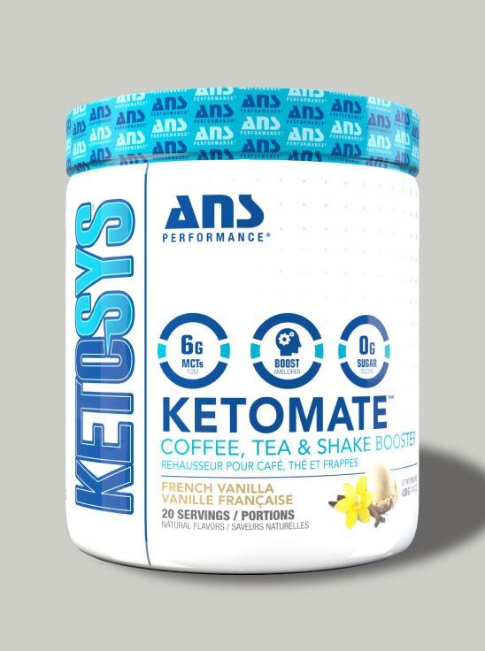 Picture of ANS Performance KETOMATE - Coffee Booster French Vanilla 20 serving