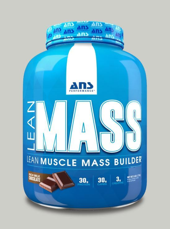 Picture of ANS Performance Lean Mass Builder Milk chocolate 5 Lbs