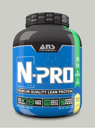 Picture of ANS Performance N-PRO Premium Qulaity Lean Protein Banana Cream 4lb