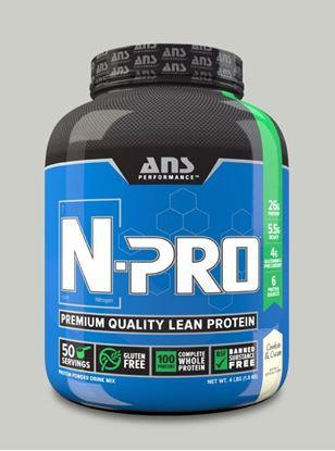 Picture of ANS Performance N-PRO Premium Qulaity Lean Protein Cookies & Cream 4lb
