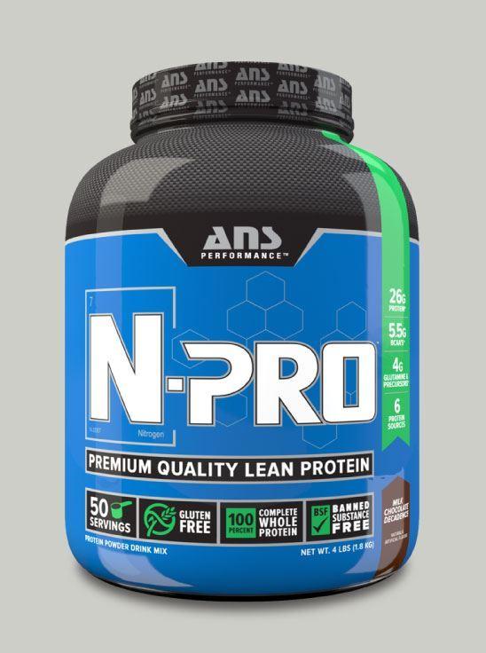 Picture of ANS Performance N-PRO Premium Qulaity Lean Protein Milk Chocolate  4lb