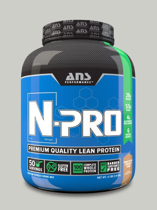 Picture of ANS Performance N-PRO Premium Qulaity Lean Protein Peanut Butter Chocolate 4lb