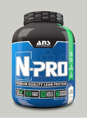 Picture of ANS Performance N-PRO Premium Qulaity Lean Protein  Creamy Vanilla 4lb