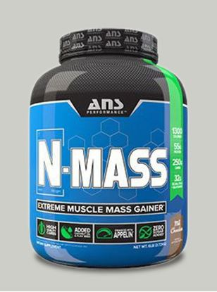 Picture of ANS Performance N-MASS Extreme Muscle Mass Gainer Milk Chocolate 6lb