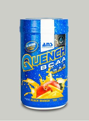 Picture of ANS Performance QUENCH BCAA Preworkout Peach Mango 100 servings