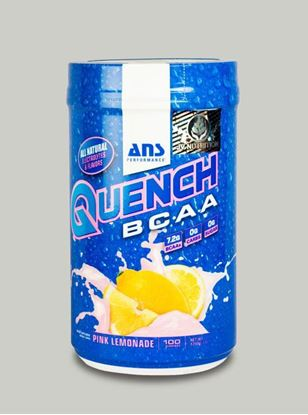 Picture of ANS Performance QUENCH BCAA Preworkout  Pink Lemonade  100 servings