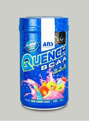 Picture of ANS Performance QUENCH BCAA Preworkout  Sour Gummy Blast 30 servings