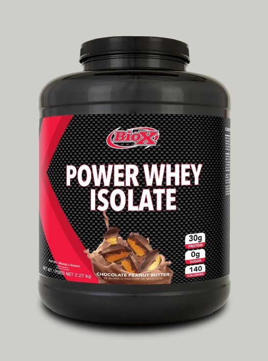 Picture of BioX Power Whey Isolate Chocolate peanut 5 lbs