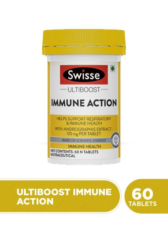 Picture of Swisse Ultiboost Immune Action- 60 tablets