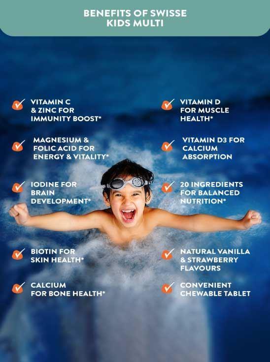 Picture of Swisse Ultiboost Kids Multivitamins- 60 tablets